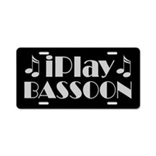 Bassoon iPlay Music License Plate Gift
