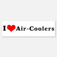I Love Air-Coolers Bumper Bumper Bumper Sticker