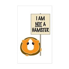 I am Not a Hamster Decal