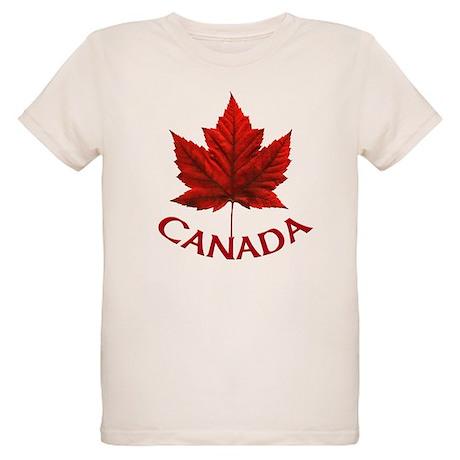 Canada Organic Kids T-Shirt Canada Kid's Shirts
