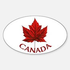 Canada Sticker (Oval)