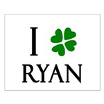"""""""I Heart/Luck Ryan"""" Small Poster"""