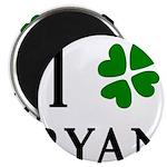 """""""I Heart/Luck Ryan"""" 2.25"""" Magnet (10 pack)"""