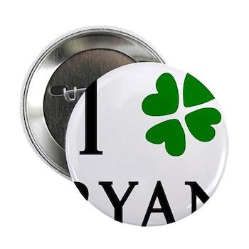 """""""I Heart/Luck Ryan"""" 2.25"""" Button"""