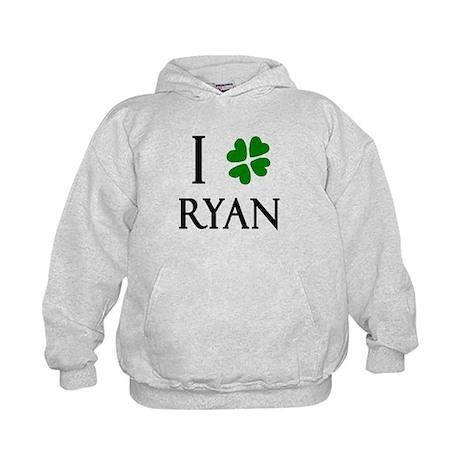 """I Heart/Luck Ryan"" Kids Hoodie"