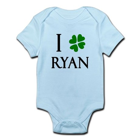 """I Heart/Luck Ryan"" Infant Bodysuit"