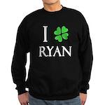 """""""I Heart/Luck Ryan"""" Sweatshirt (dark)"""