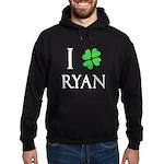 """""""I Heart/Luck Ryan"""" Hoodie (dark)"""