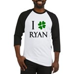 """I Heart/Luck Ryan"" Baseball Jersey"