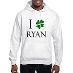 """""""I Heart/Luck Ryan"""" Hooded Sweatshirt"""