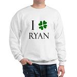 """""""I Heart/Luck Ryan"""" Sweatshirt"""