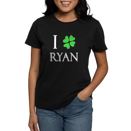 """""""I Heart/Luck Ryan"""" Women's Dark T-Shirt"""