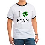 """""""I Heart/Luck Ryan"""" Ringer T"""