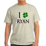 """""""I Heart/Luck Ryan"""" Light T-Shirt"""