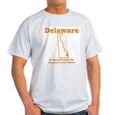 Delaware:We Really Do Like Th Ash Grey T-Shirt