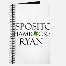 """""""Esposito Shamrocks Ryan"""" Journal"""