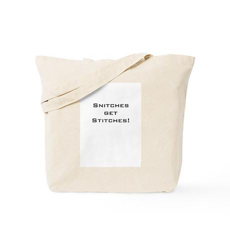 Stitches Tote Bag