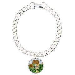 St. Patrick's Day CottageCharm Bracelet, One Charm