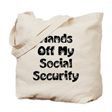 Social Security Tote Bag