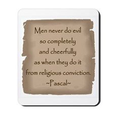 Pascal Quote Mousepad