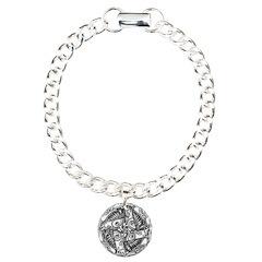 Celtic Knot Charm Bracelet, One Charm