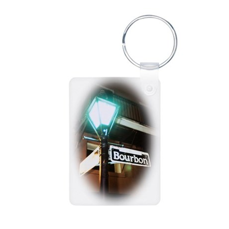 All Things Cajun Aluminum Photo Keychain