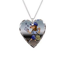 Mail Carrier Necklace Heart Charm