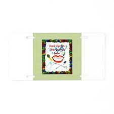 Dental Hygiene Aluminum License Plate