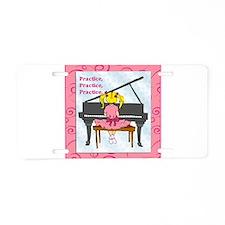 Practice Aluminum License Plate