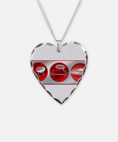 Bad to Good Necklace Heart Charm