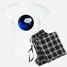 Uh Oh Dark Blue Pajamas