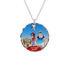 Gilligan's Island Necklace Circle Charm
