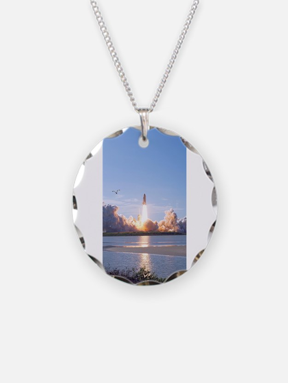 Shuttle Orbit Necklace