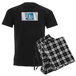 Running Men's Dark Pajamas