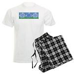 Golf Quotes Aaron Men's Light Pajamas