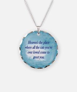 Cats in Heaven Necklace