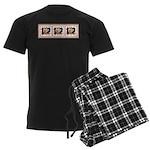 Humphrey 1Tri Men's Dark Pajamas