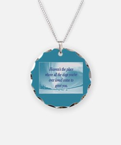 Dogs Heaven Necklace