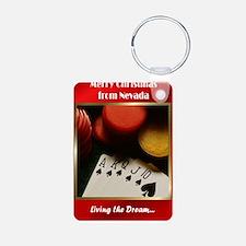 Poker Keychains