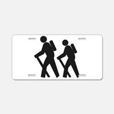 Hiking2 Aluminum License Plate