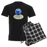 Lighthouse-Fog Men's Dark Pajamas