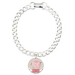 Pink Pig Bracelet
