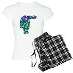 DotDinosaur Women's Light Pajamas