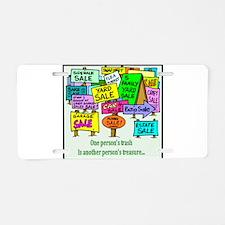 Yard Sales Aluminum License Plate