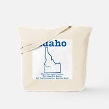 Idaho: Potatoes! Tote Bag
