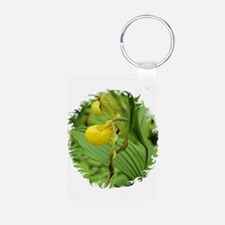 Yellow Ladyslipper Keychains