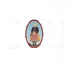 Muhu Garb Aluminum License Plate