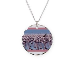 Flamingoes Necklace