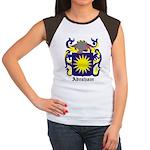 Abraham Coat of Arms Women's Cap Sleeve T-Shirt
