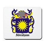 Abraham Coat of Arms Mousepad